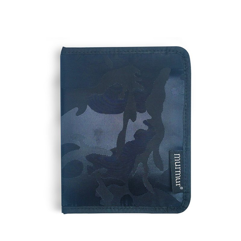 Murmur passport cover. passport holder | camouflage blue