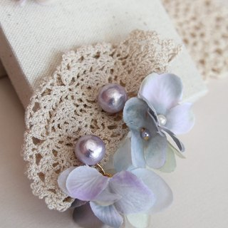 Floral Earrings , Flower Earrings , Artificial Flower Earrings , Earrings