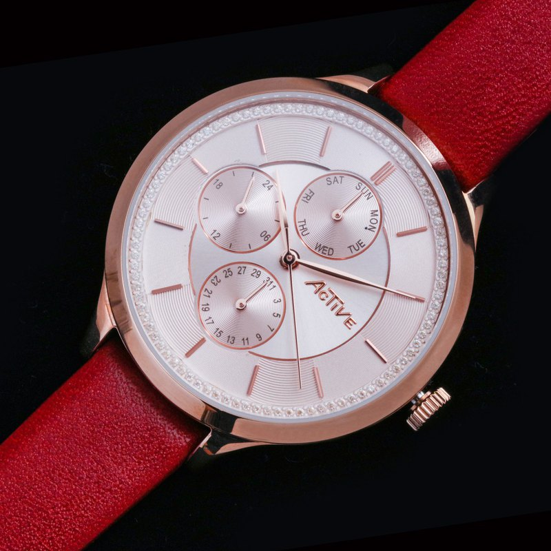 Active Fashionable Collection – Pink & Rose Gold Strap