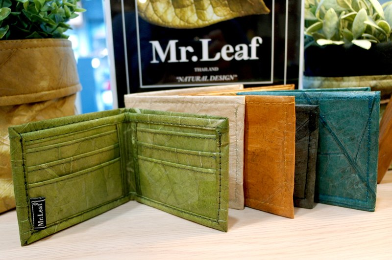 Mr.Leaf-simple texture short clip (no change bag zipper)