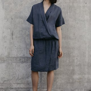 Linen Dress Motumo – 18S7