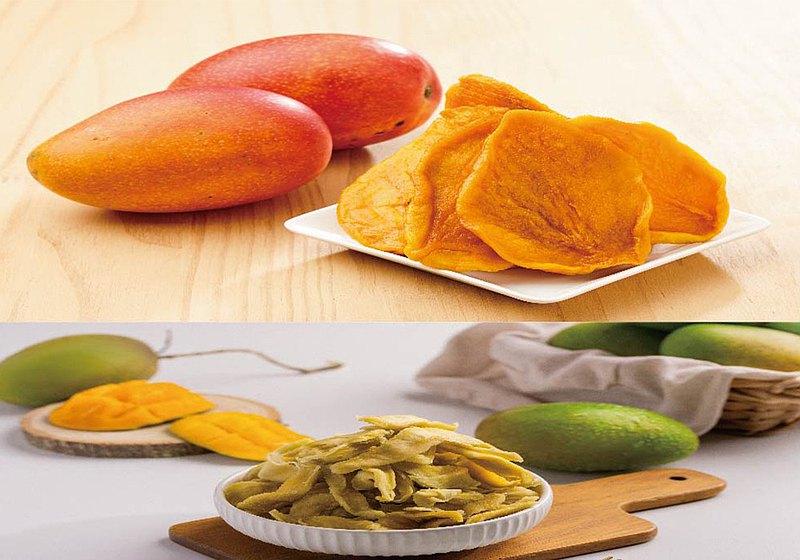 餞面禮-情人果乾X2包+芒果乾X2包(80g/包,4包入)芒果重度愛好者