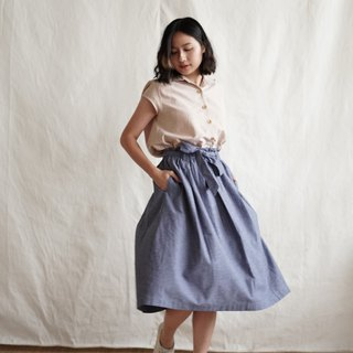 MAPRANG SKIRT - Blue