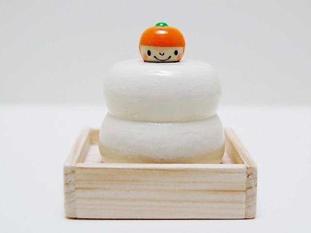 Fly out Kokeshi * rice cake * Mikan-chan * [4]