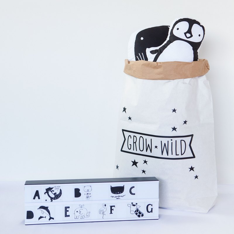 荷蘭|a Little Lovely Company ❤北歐風 酷黑壁貼: Grow Wild