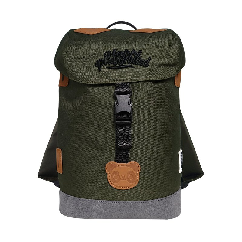 Street Explorer Kids Backpack (Jungle Green) HappiPlayGround