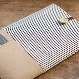 "Tablet Case iPad Pro 9.7 ""iPad Air Kindle iPad mini Cover / Stripe & Camel"