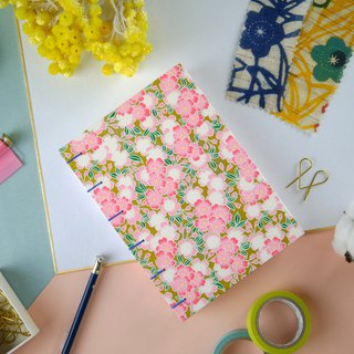 Dancing Sakura - A6 manual notebook / PDA / diary / album / log / gift