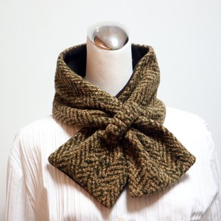 Adjustable short scarf. Scarf Warm bib double-sided two-color adults. Kids are suitable for *SK