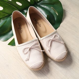 【Possibility of Anti-snoring】 Denim Straw Shoes - Cotton, M
