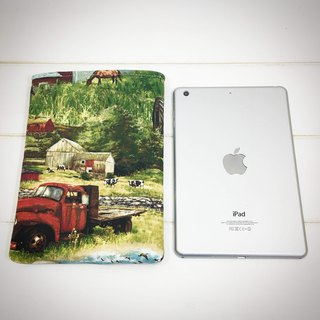 |R• | Fastest iPad | Industrial Countryside | U-shaped Flat Bag/Plate Cover | 7.9吋
