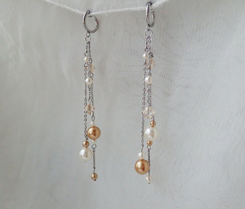 Stainless Steel earrings with SWAROVSKI ELEMENTS