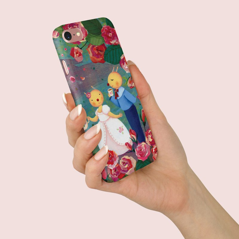 "Phone Case ""Roses"" design by 綺綺糖的糖蛋糕 A066CC004"