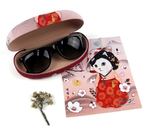 JETOY, sweet cat sun glasses case _Myeong wol J1701301