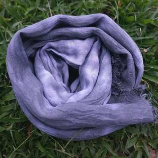Rhinoceros horns grayed purple ropes cotton scarf scarves