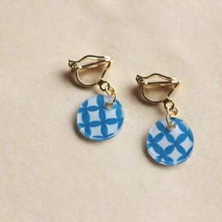 Qibao - pin clip earrings