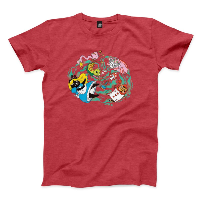 Mimi In Wonderland - Heather Red - Neutral T-Shirt