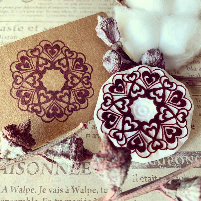 Love hand stamping group