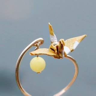 Mini cranes Crystal Ring (sweet fruit) - Valentine's Day gift