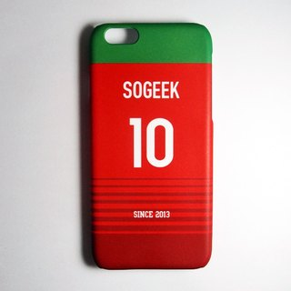 SO GEEK phone shell design brand THE JERSEY GEEK shirt back number customized models 054