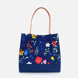 Plockade full bloom tote bag/shoulder bag/handbag handmade canvas