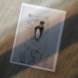 Gazing Animal Series Digital Print Copy No. 3 | SAKOSTUDIO