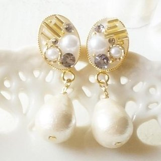 Swarovski Jewelry shaking cotton pearl