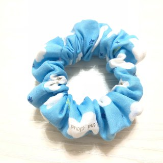 Japanese double yarn. Soft clouds / large intestine circle hair bundle. Donut hair bundle. Hair ring