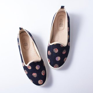 Lov Day | Kyoto Ancient Bell Flower Shoes. Simple to wear off. Temperament models. Thick color. Leather insole