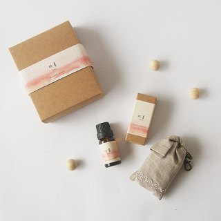 Anniversary Blessing Bag Goody Bag - Fragrance Bag + Herbal Essential Oil = Love Double Combination