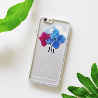 Valentine 's Day Limited | Umbrella under the umbrella plant specimens Huahua phone shell Iphone / Samsung