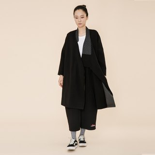 BUFU Chinese - style long coat  O170606