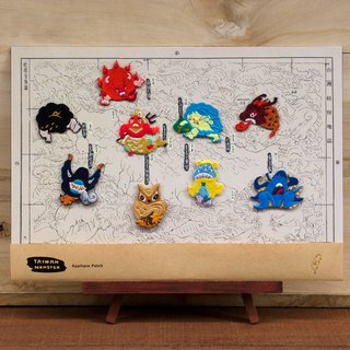 Embroidery Group - Taiwan Monster Gezhi Monster Group (Limited) -9% off