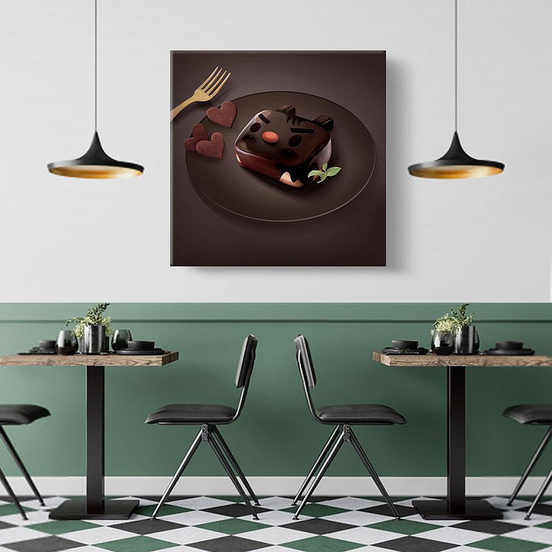Wall Art_Chocolate Brownie