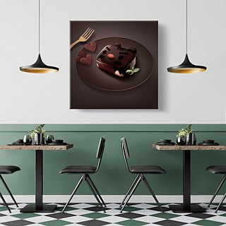 Wall Art︱Chocolate Brownie