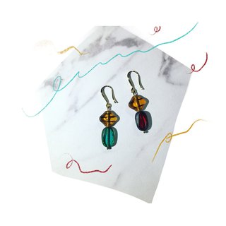 Magic Stone Fire Earrings