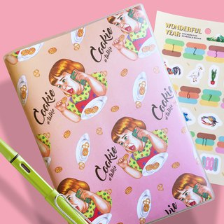 Girl On The Phone Pinky Planner