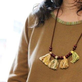 ☆ Hammock ☆ 彡 Hammock Tassel Necklace