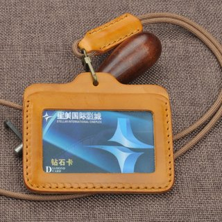 Italy rub the wax models in Europe and America leather clip closure travel card credit card purse card protection set of three card slots free customized English name