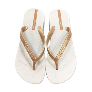 IPANEMA Printed Wedge Thickener Flippers::Gold::
