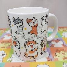 乜乜Mug - 陶瓷杯 - A款 - Cat Dance
