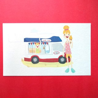 Summer Ice-cream / Post Card