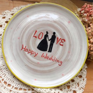 wedding - wedding anniversary commemorative plate