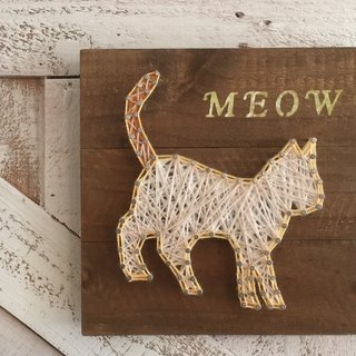 [6618 yo tail] custom pet cat handmade wooden wall hangings