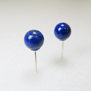 READ Dazzling Lovers. Lettis | Lapis 925 Sterling Silver Ear Pins