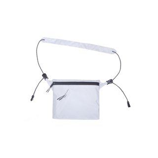 oqLiq - Project 06.2 - River sacoche bag Sichuan word supply package small (white)