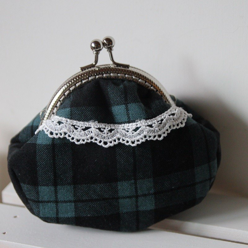 Cotton Fabric: Coin Purses, Cosmetic Bag, Scottish Plaid