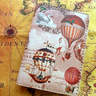 Looking No. Sew Leather Passport Cover