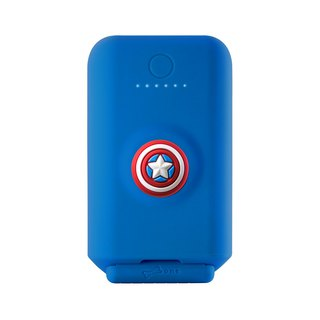 [9/3 forward charger] fast charge stand 3.1A mobile power 10050mAh - Captain America