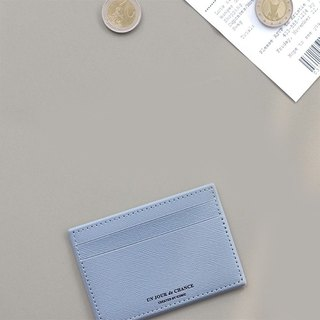 ICONIC Lady Classic Leather Ticket Clip V2-Pale Blue, ICO51326